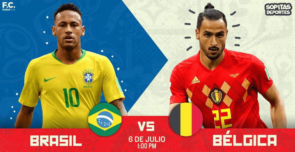 ¡Brasil eliminado! Bélgica ganó 2-1 y es semifinalista del Mundial