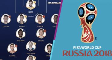 La FIFA dio a conocer el 11 ideal del Mundial de Rusia 2018