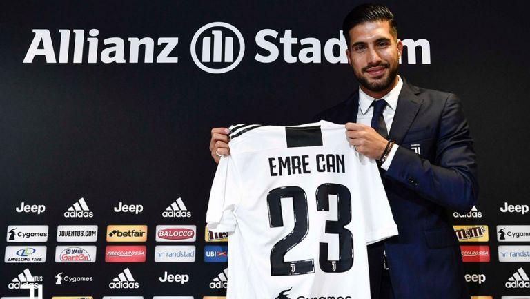 En la presnetación de Emre Can, habla sobre Cristiano Ronaldo y la Juventus