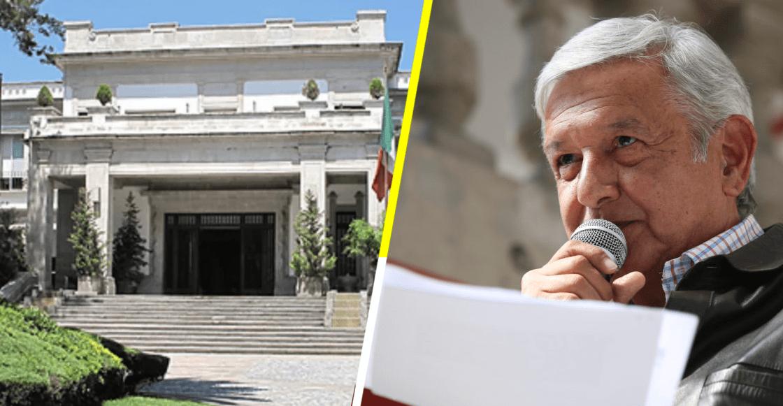 AMLO Los Pinos Secretaría de Cultura
