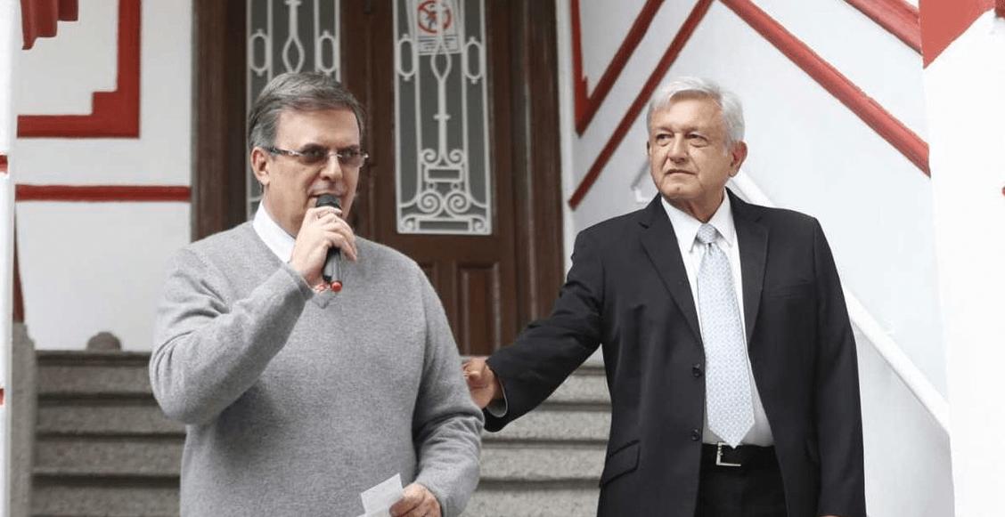 AMLO Marcelo Ebrard reunión Pompeo