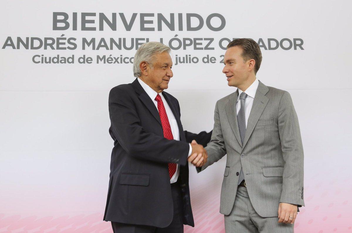AMLO y Manuel Velasco