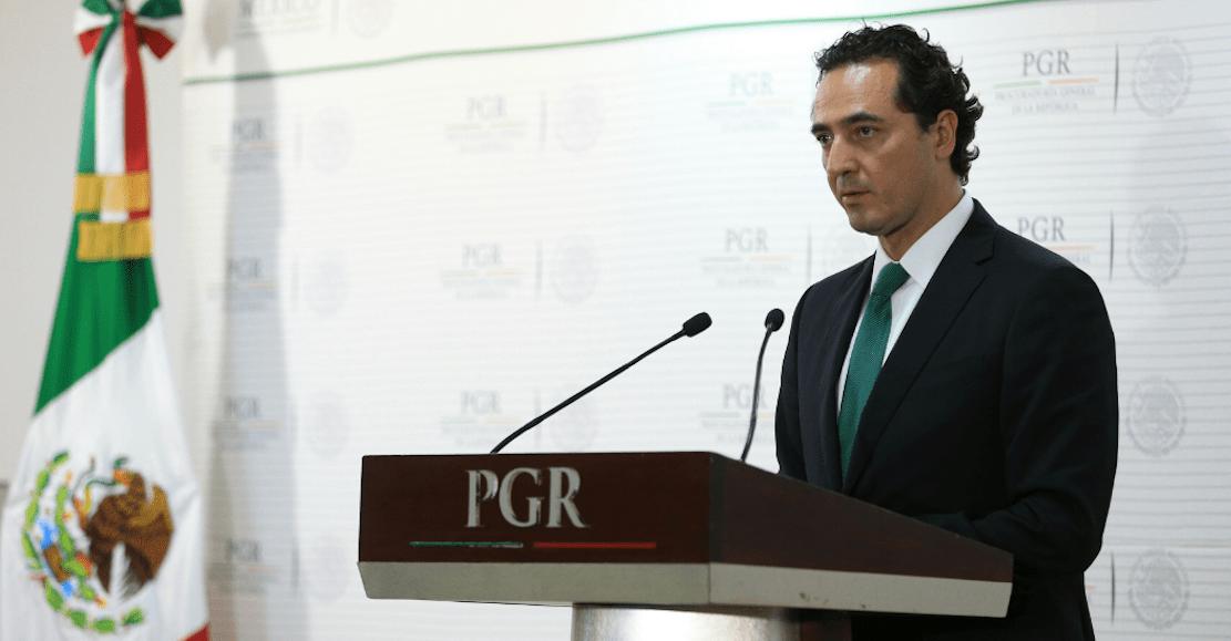 Alberto Elías Beltrán oficina PGR