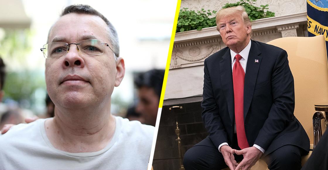Trump amenaza a Turquía; exige la liberación del pastor Andrew Brunson