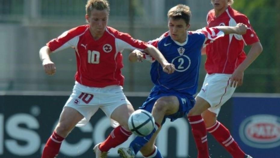 El día que Iván Rakitic enfrentó a Croacia vistiendo la camiseta de Suiza