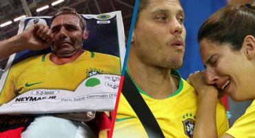 10 imágenes que te harán sentir el dolor de los brasileños tras la eliminación del Mundial