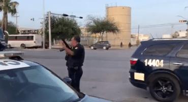 Balaceras colapsan Nuevo Laredo y desencadenan pánico