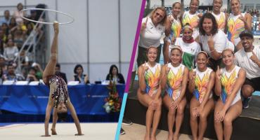 Barranquilla 2018: México logra 1-2 en gimnasia rítmica, lo más destacado