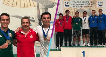 ¡Orgullo mexicano! Yahel Castillo y Juan Celaya ganan oro en Grand Prix en España