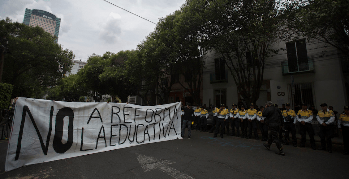 CNTE contra reforma educativa libros SEP