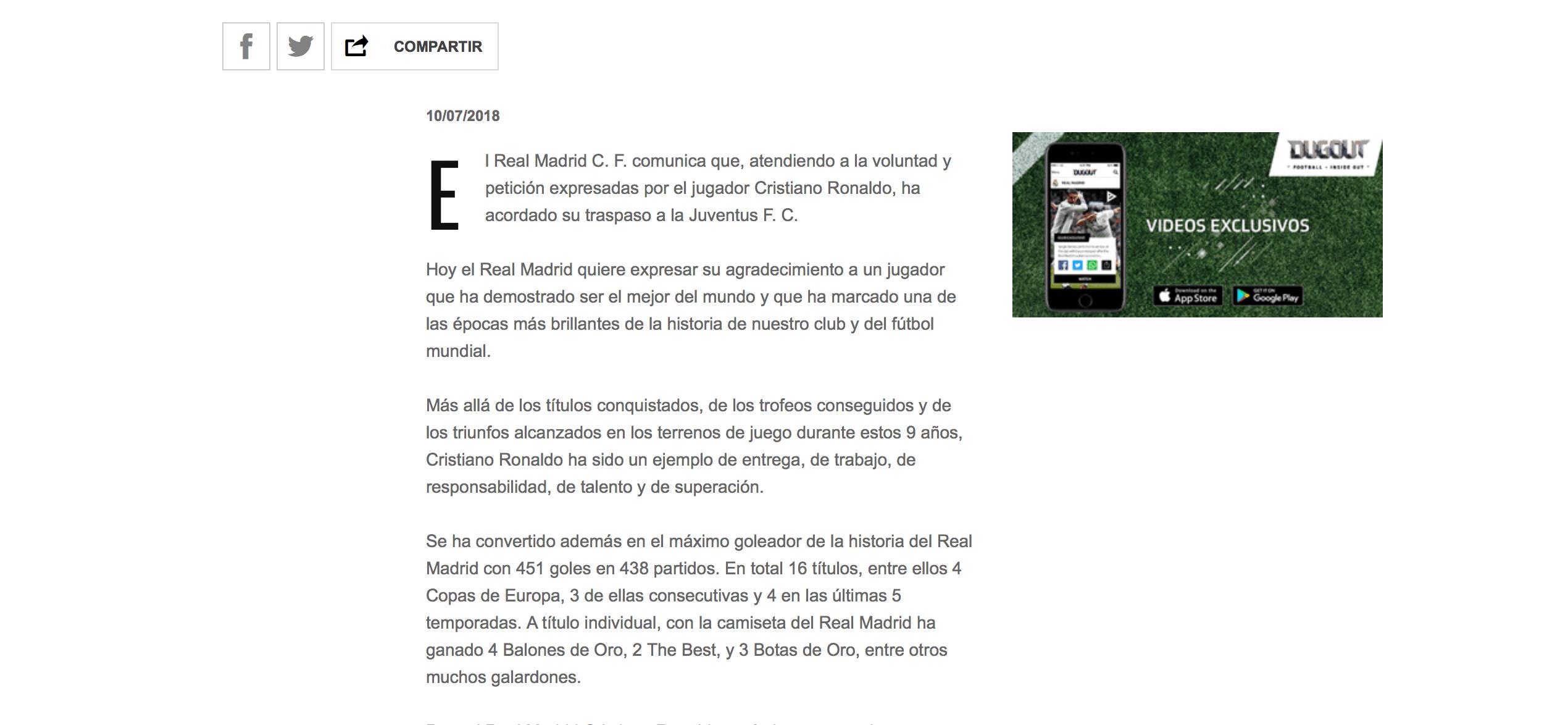 ¡Comandante bianconero! Cristiano Ronaldo ya es jugador de la Juventus