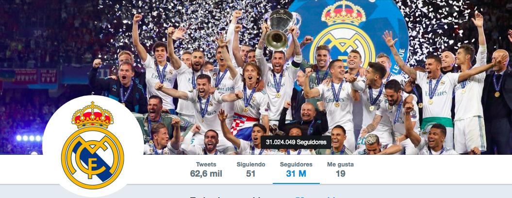 Real Madrid pierde casi un millón de seguidores tras la salida de Cristiano Ronaldo