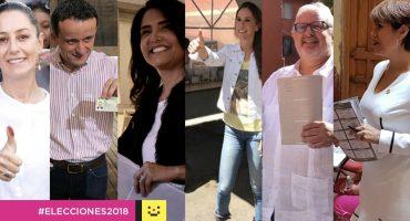 Así votaron los candidatos a la Jefatura de Gobierno de la CDMX