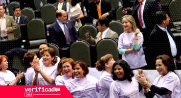 #Verificado2018 Y por primera vez el Congreso tendrá paridad de género