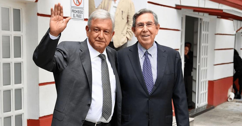 Cuauhtémoc Cárdenas reunión con AMLO