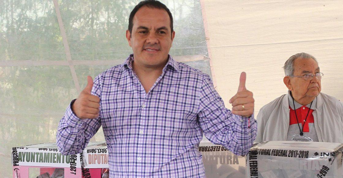 Cuauhtemoc Blanco Gobernador de Morelos