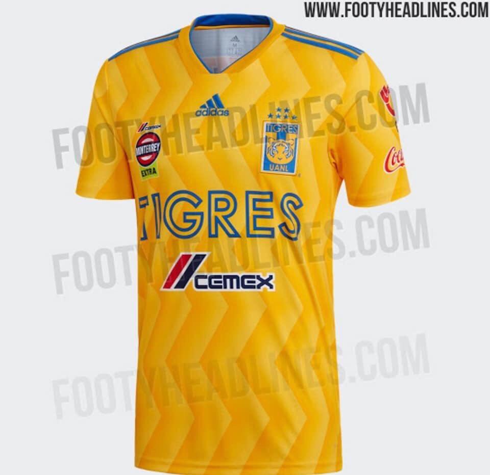 Tigres reveló su nuevo uniforme por un descuido