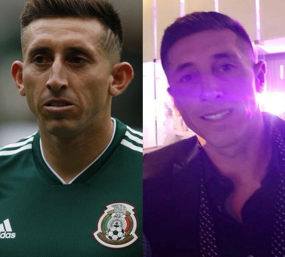 ¿Brad Pitt? ¡No, es Héctor Herrera que regresó con rostro nuevo luego de cirugía!