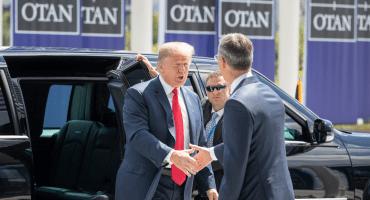 Países de la OTAN son unos 'delincuentes': Trump en Bruselas