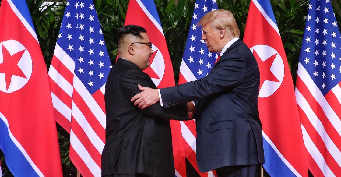 Trump publica carta de Kim Jong-un — Puras flores