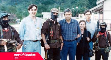 #Verificado2018 La foto que muestra a Cárdenas, AMLO y Rosario Ibarra con zapatistas es verdadera