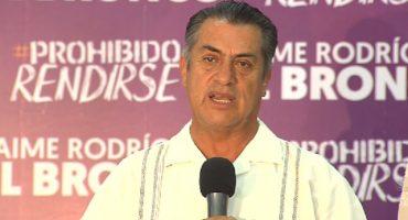 """""""La gente tomó una decisión y hay que respetarla"""": El Bronco acepta triunfo de AMLO"""