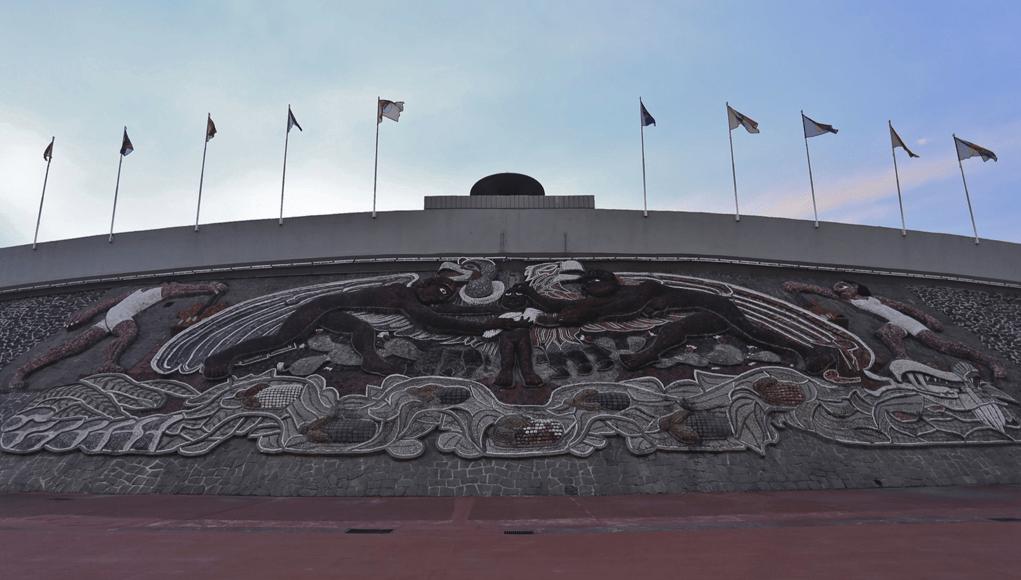 Pebetero del Estadio Olímpico Universitario
