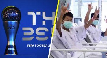 FIFA ahora invita a los niños tailandeses a los premios The Best en Londres