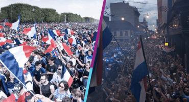 Festejos en Franci y Croacia