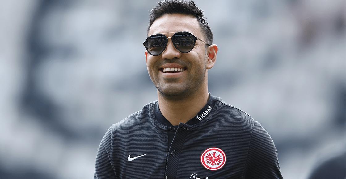 ¡Ya llegó Marquito! Fabián reportó con el Eintracht Frankfurt