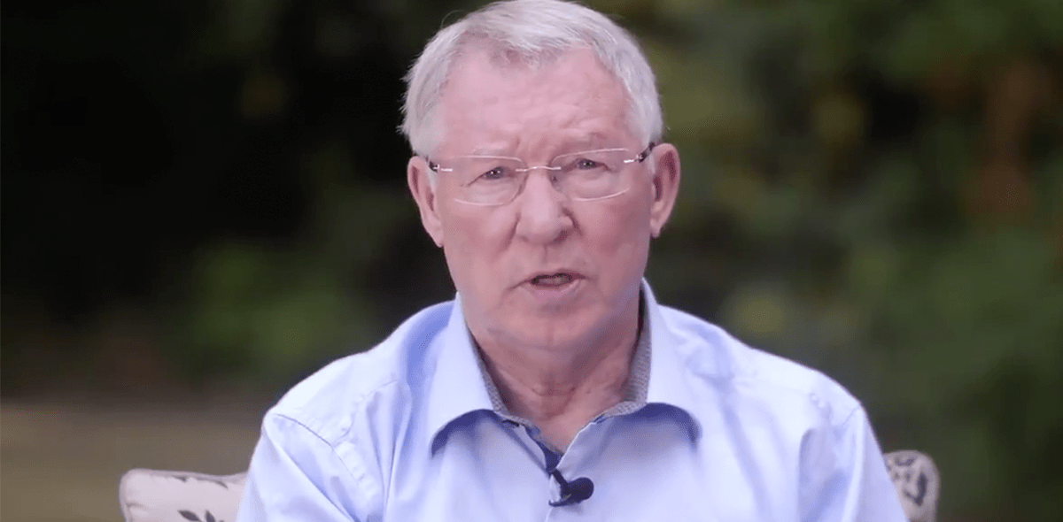 """Sir Alex Ferguson reaparece recuperado: """"Gracias por el apoyo"""""""