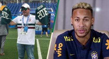 Neymar y el emotivo mensaje a Gilberto Martínez, el mexicano que homenajea a su familia en Rusia