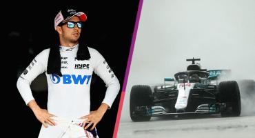 Hamilton conquista la Pole Position y a Checo le fue gacho con la lluvia de Hungría