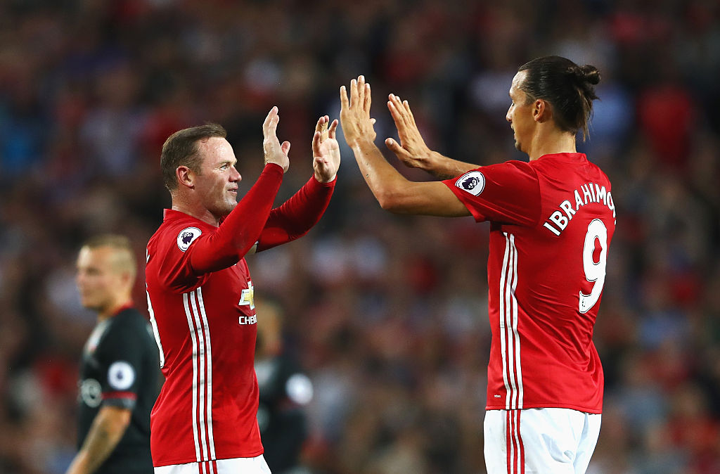 Wayne Rooney se burla de Zlatan por la eliminación de Suecia
