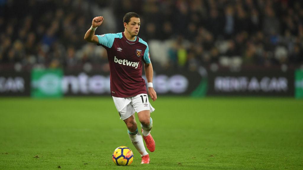 ¡Chicharito in the house! Hernández ya reportó con el West Ham