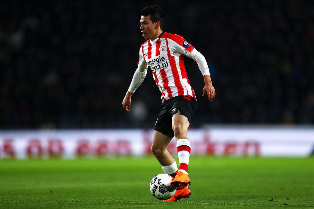 """DT del PSV: """"Rechazaríamos una oferta por 50MDE por Chucky Lozano"""""""