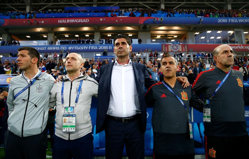 Fernando Hierro no continuará como Director Deportivo de la Selección de España