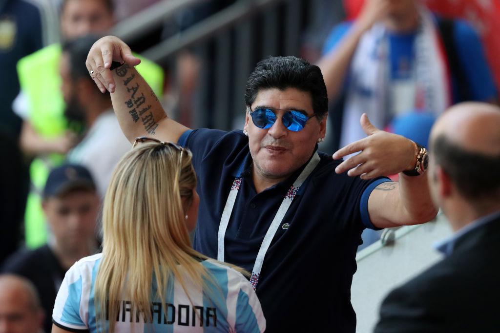 """El """"especialista"""" Diego Armando Maradona, analizó a los cuatro semifinalistas de Rusia 2018"""