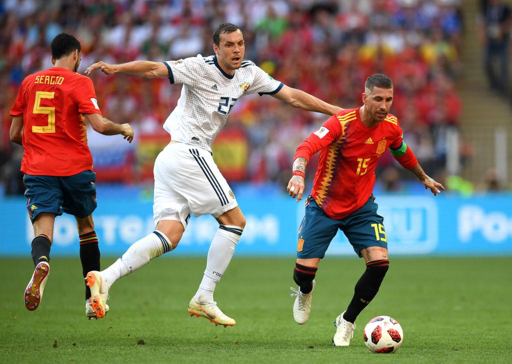 Imágenes de Sergio Ramos con España