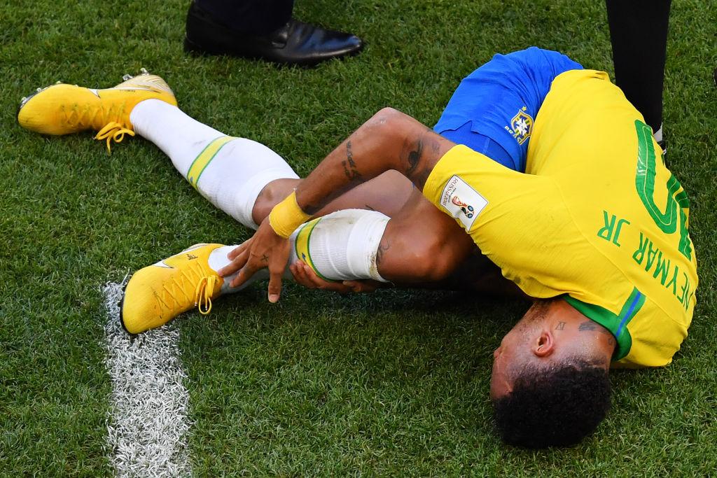 Neymar es el jugador que más faltas ha recibido en Rusia 2018 hasta ahora