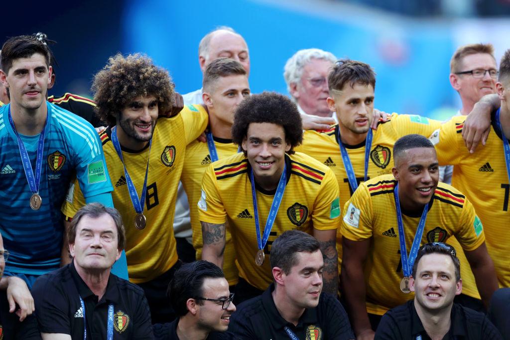 20 fotos de la premiación de tercer lugar de Bélgica en Rusia 2018