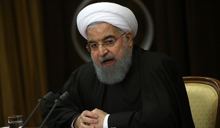 Hasán Rohaní., presidente de Irán