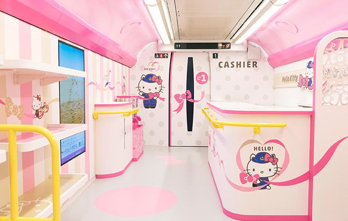 ¡Súbale! El tren de Hello Kitty está por arrancar