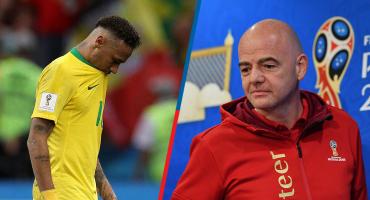 ¡Basta de clavados! El presidente de la FIFA espera más futbol de Neymar en el futuro