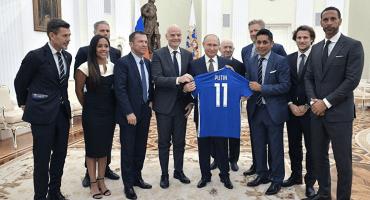 Jorge Campos se reúne con su 'nuevo mejor amigo': Vladimir Putin