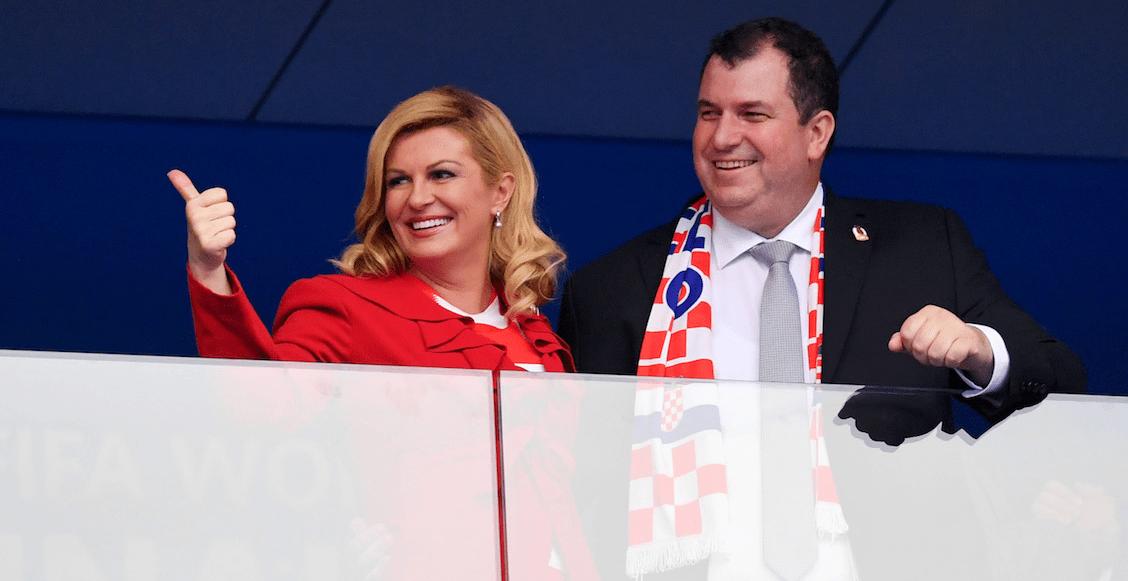 Kolinda Grabar-Kitarovic Croacia