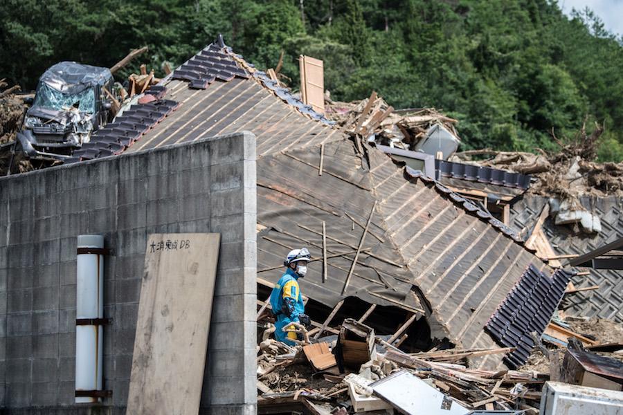 Japón lluvias e inundaciones