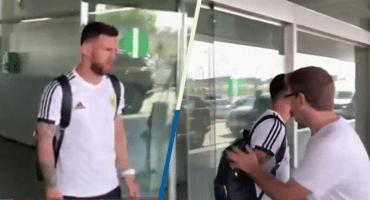 Messi arriba a Barcelona solo y en silencio un día después de la eliminación