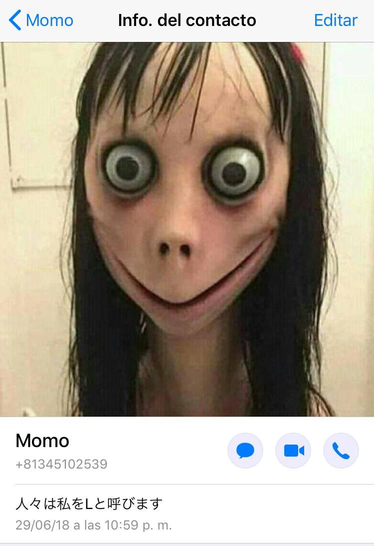 La historia de 'Momo', la criatura que está causando terror