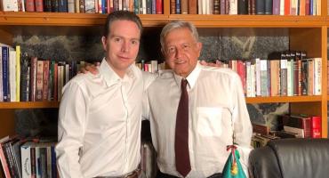 Manuel Velasco se reúne con AMLO